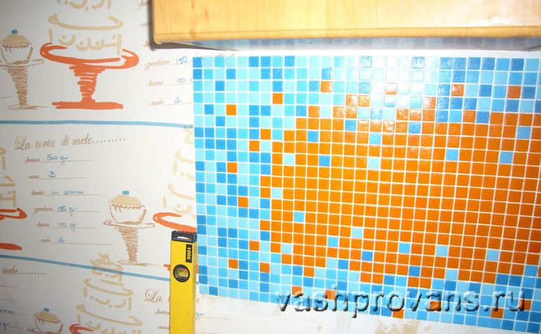 разноцветная мозайка