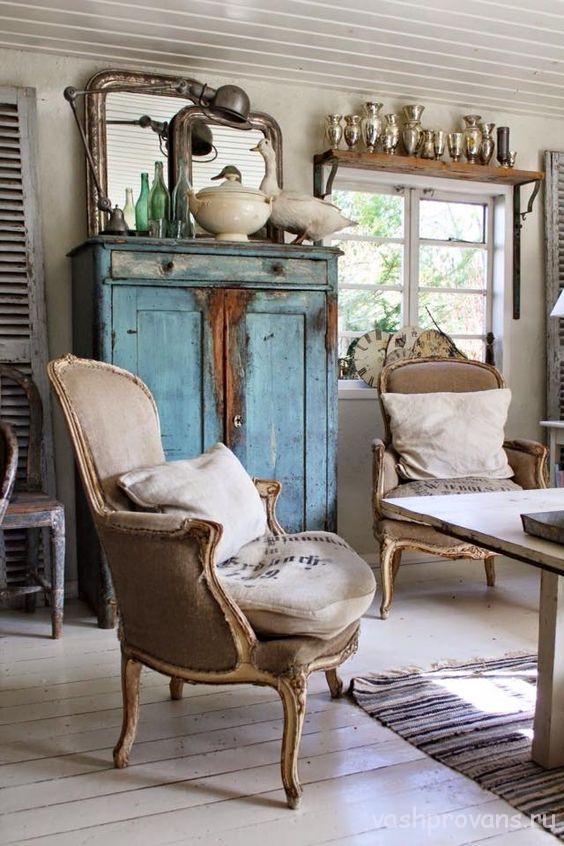 La sedia in stile provenzale
