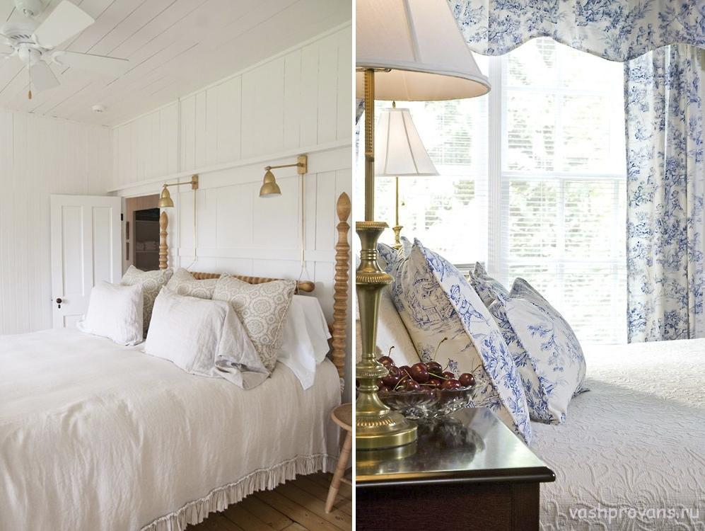 bettw sche im stil der provence. Black Bedroom Furniture Sets. Home Design Ideas