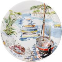 Gien Provence море тарелка десертная